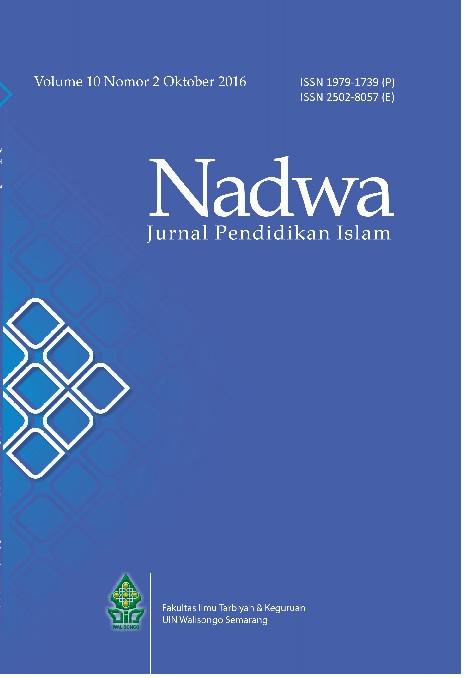 Nadwa Vol.10 No.2 Tahun 2016