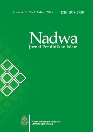 Nadwa Vol. 11 No. 1 Tahun 2017
